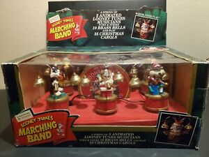 Mr Christmas Looney Tunes Marching Band 35 Songs 5 Animated Musicians Never Used