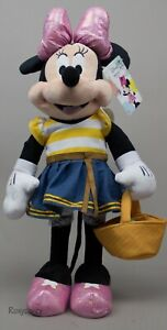 Holiday Disney 23 in Tall Minnie Mouse with Easter Basket Greeter NWT