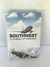 Southwest Airlines A Symbol of Freedom 2002 edition Coca Cola Logo Playing Cards