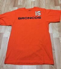 Men's Medium Denver Broncos TIM TEBOW #15 Jersey Style T-Shirt Reebok EUC