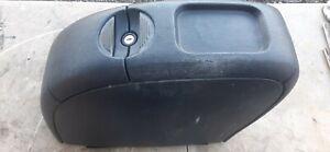01-04 Dodge Caravan Center Console Blue Faded & Scratched w Mount / Base No Key