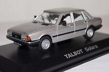 Talbot SOLARA 1980 ARGENTO 1:43 Norev NUOVO & OVP