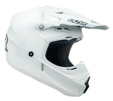 LAZER X7 SOLID WHITE HELMET ADULT MOTOCROSS MX ENDURO QUAD ATV BMX MTB ALL SIZES