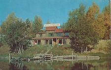 Postcard Alaska Wasilla Lake Williwaw Lodge