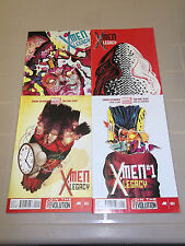 X-MEN LEGACY #1 thru #4 from Marvel Comics!!  New Series(2013)!!  Great Deal!!