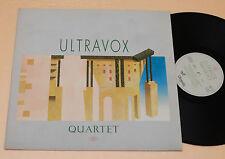 ULTRAVOX:LP-QUARTET-1°PRESS+INNER TOP NM