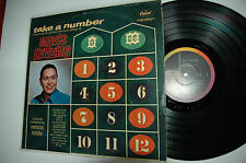33RPM Jazz Vinyl Take a Number/ Mavis Rivers Capitol T1210 121212LAE