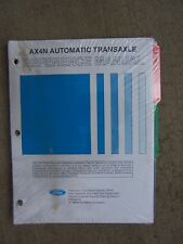 1994 Ford AX4N Automatic Transaxle Reference Manual Powertrain Sub-Assembly  R