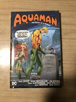 AQUAMAN: DEATH OF A PRINCE HARDCOVER Deluxe Edition DC Comics HC