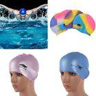 Flexible Silicone Swimming Cap Waterproof Unisex Adult Durable Elasticity Unisex