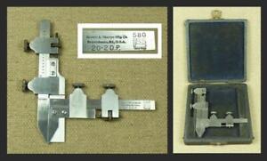 GEAR TOOTH VERNIER CALIPER No.580 20-2 DP - Brown & Sharpe USA_Micrometer/Gauge