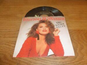 """VANESSA WILLIAMS - The Right Stuff - 1988 US wide centre 7"""" Vinyl Single"""