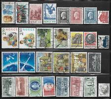 Norway Europe Packet Lot of 29 Stamps all different Country Collection used