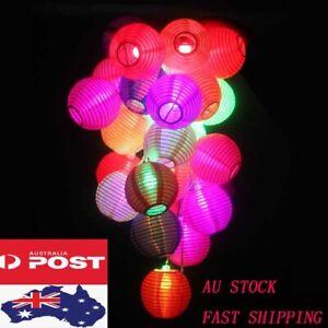 10-100pcs Fabric Lucky Lantern Party Event Wedding Decoration LED Christmas Gift