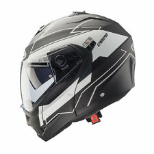 CASCO MODULARE CABERG DUKE GRAVITY MATT BLACK - WHITE + PINLOCK TAGLIA XL