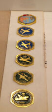 Russian Soviet WW2 USA LEND-LEASE Airplane BADGES Set of 6