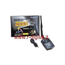 ANTENNE ULTRA PUISSANT Récepteur Wifi USB Sans Fil 2000 mW Amplificateur Realtek