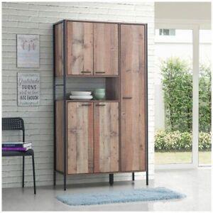 Stretton Kitchen Dresser Dining Room Display Larder Cabinet Pantry Cupboard