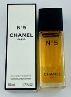 Chanel NO 5 EAU DE TOILETTE Spray 50 ml 1.7 FL OZ VINTAGE