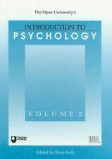 Introduction To Psychology V2 (Open University Course DSE202) Hardback Book The