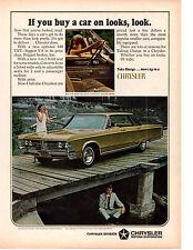 1967 CHRYSLER NEW YORKER OPTIONAL 440 ~ ORIGINAL PRINT AD