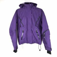 LL Bean Womens Small Purple Ski Parka Jacket Thinsulate Supreme Vented Hooded