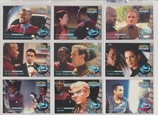 STAR TREK DS9 MEMORIES FROM THE FUTURE GREATEST ALIEN LEGENDS CARDS SET X 9