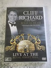 cliff richard live at the royal albert hall dvd.