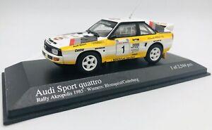 Minichamps 1/43 Audi Sport Quattro #1 Gagnant Rally Acropole 1985 400851201