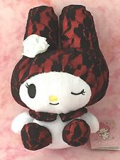 My Melody Plush Doll Stuffed Animal Lace White Rose Red 19cm Sanrio Japan Import