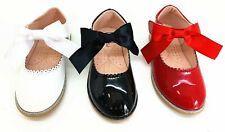 Chicas Fiesta Boda Bridesmaids ocasional Cómodos Zapatos de niños de la escuela planas tamaño