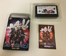 New Ghostbusters 2 Famicom NES Japan GAME CIB Located In U.S.