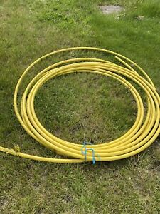 Approx 25-30m 32mm Yellow LDPE Gas Pipe