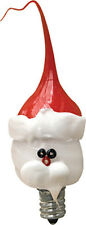 Santa Claus Light Bulb - 3 Watt Silicone Dipped - Vickie Jean's - Christmas