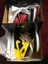 Nike air Jordan New Love Old Love Size 12 DS New AJ1 Red Yellow Black White DMP
