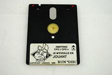 Jeu DENVER JE M'EVEILLE EN JOUANT pour AMSTRAD DISK disquette : fonctionne