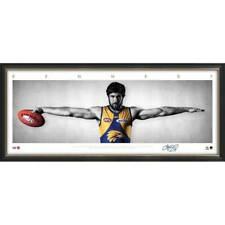 Josh Kennedy Signed West Coast Eagles Mini Wings Official AFL Print Framed - NEW