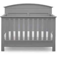 Serta Ashland 4-In-1 Convertible Crib, Gray *Distressed