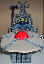 MOTU Masters of the universe custom throne and table for Classics skeletor