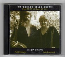 (HY982) Paul Christopher & Ruth Drummond, Offenbach Cello Duets - 2004 CD