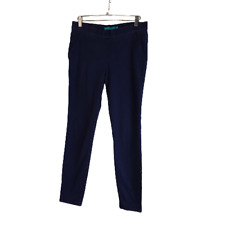 Tori Richard Stretch Pull On Jegging Pants Navy Blue Size 6 Have a Flaw
