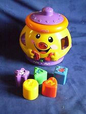 """Fisher Price.."""" Laugh And Learn Shape Sorter"""".. Cookie Jar"""