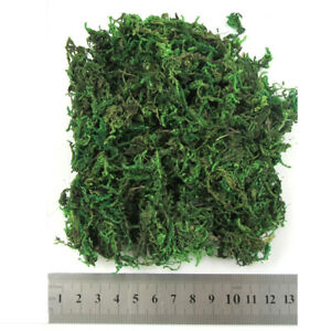 ARTIFICIAL MOSS DRIED POTTED PLANTS DECOR WEDDING WREATH HOME CHRISTMAS FLOWER