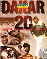 VSD HS Spécial Rallye PARIS DAKAR 1998 ; Historique 1979-1997 Thierry SABINE
