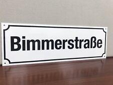 Bimmerstrasse  Bmw Bimmer metal Street sign German European