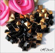 Any Purpose Cube Black Jewellery Making Beads