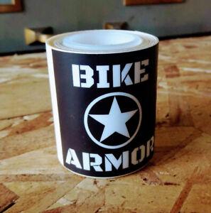 Bike Armor Paint Shield Heli Tape PLUS, 5ft roll, Clear, 2-pack