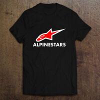 Alpinestars LIFT Logo Men's Black White T-Shirt Size S-2XL