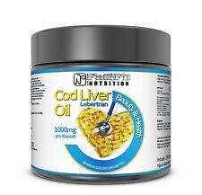 Lebertran 250 Kapseln je 1000mg Fat2Fit Nutrition Cod Liver Oil