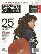 Acoustic Guitar magazine February 2015 - 25th Anniversary, Valerie June